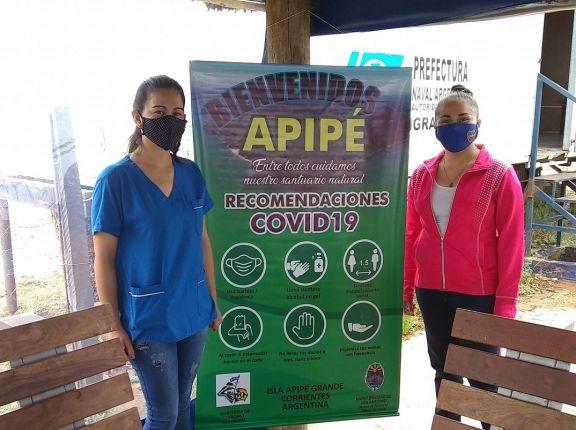 Isla Apipé con 5 casos activos y 48 personas aisladas