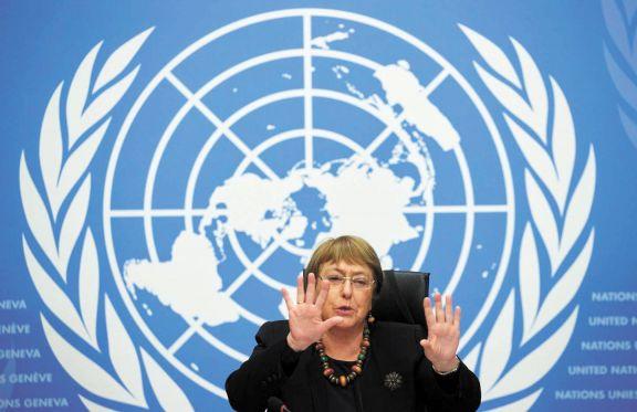 Bachelet expuso en la ONU su inquietud por los DD. HH. en Formosa