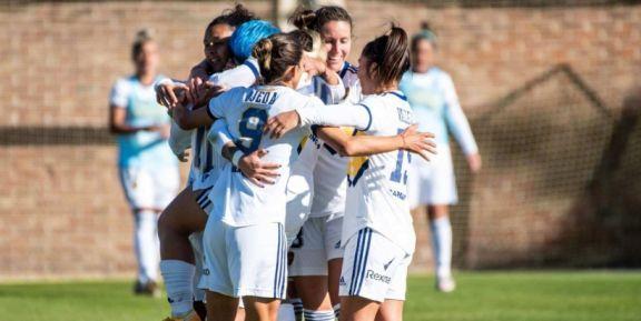 Con gol de Yamila Rodríguez, Boca empató con San Lorenzo en el cierre de la octava fecha del Femenino