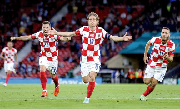 Eurocopa: Croacia a octavos con un golazo de Modric