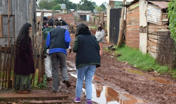 Detectan 200 familias que viven en grave situación de vulnerabilidad