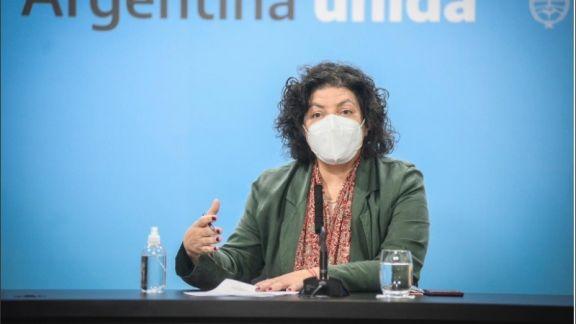 """Vizzotti señaló que la Argentina """"está en los últimos tramos de las negociaciones con Pfizer"""""""
