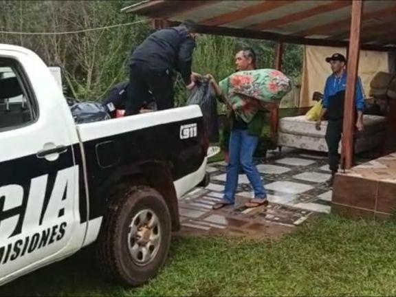 Solidaridad plena en San Javier con una familia que lo perdió todo en un incendio