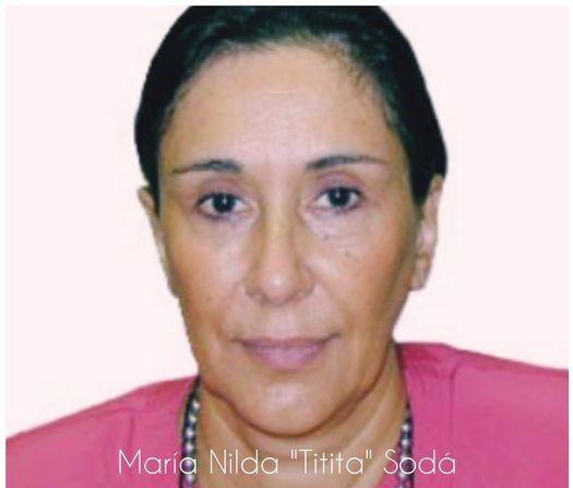 """La política y la educación superior de luto por la muerte de Nilda """"Titita"""" Sodá"""