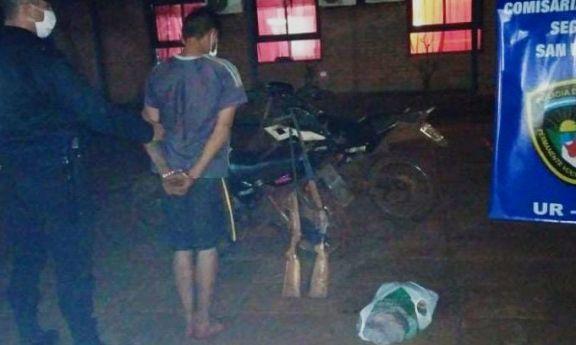 Faenó una vaca ajena y dejó la carne en lo de un vecino