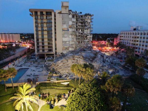 Confirman que son 10 los argentinos desaparecidos tras el derrumbe de un edificio en Miami