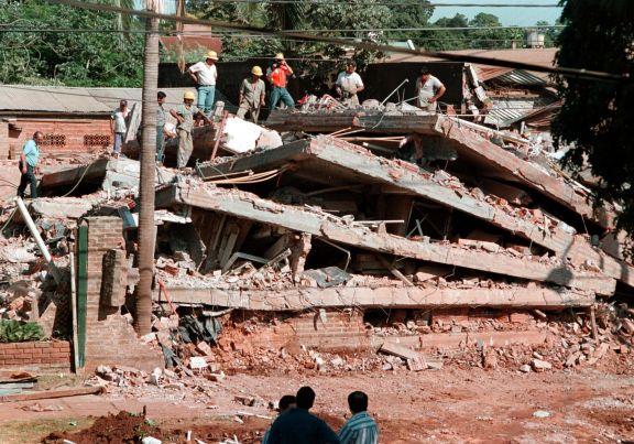 El día que en Posadas se derrumbó un edificio