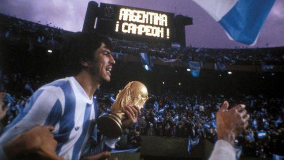 Hoy hace 43 años Argentina se consagró Campeón del mundo en fútbol por primera vez