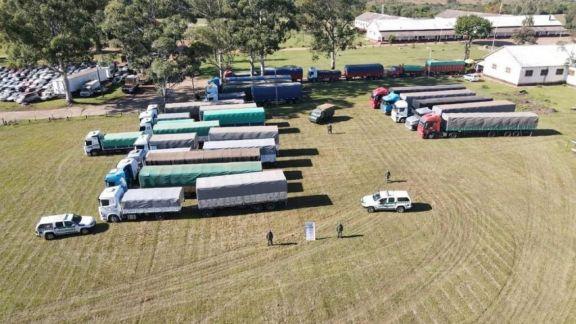 Dictaron prisión domiciliaria para los detenidos por la ruta de la soja