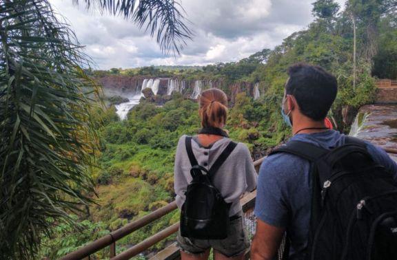 Poco más de 4000 turistas visitaron el Parque Nacional Iguazú durante junio
