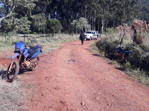 San Vicente: chocaron dos motociclistas, uno de ellos murió