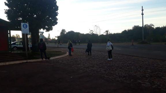 Vecinos de San Ignacio piden que los colectivos ingresen a la terminal