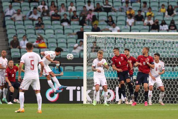 Dinamarca venció a República Checa y se clasificó a las semifinales de la Eurocopa