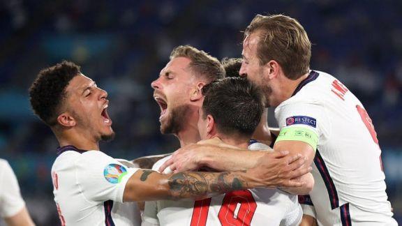 Inglaterra goleó a Ucrania y avanzó a semis de la Eurocopa