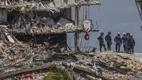 Miami: hallaron dos cuerpos entre escombros y el número de fallecidos se eleva a 24