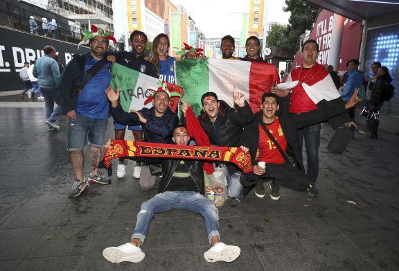 Italia y España se enfrentan en Wembley por un lugar en la final de la Eurocopa y te contamos donde verlo