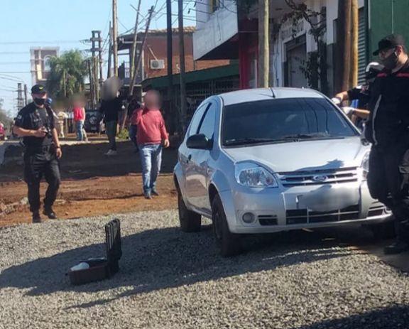 Detienen a sospechoso e incautan el auto utilizado en asalto