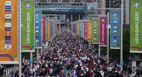 Inglaterra y Dinamarca definen en Wembley al segundo finalista de la Eurocopa