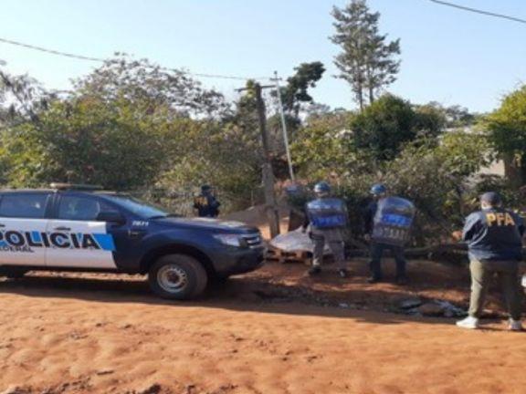 Detectan mercaderías y artefactos ilegales en una vivienda de Puerto Iguazú