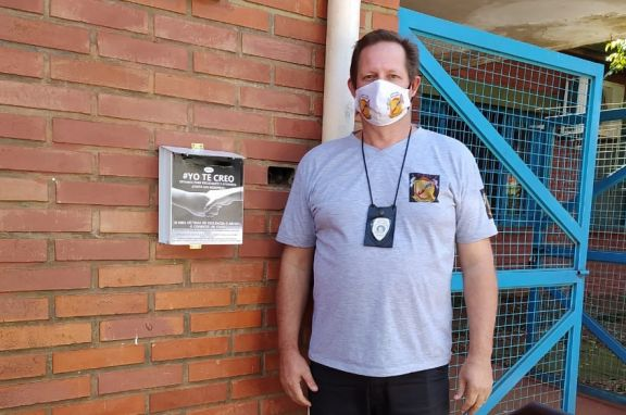 Jardín América: disposición de urnas para detectar situaciones de violencia