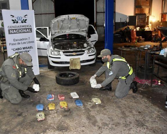 Desarticulan banda de Misiones que traficaba cocaína en la región