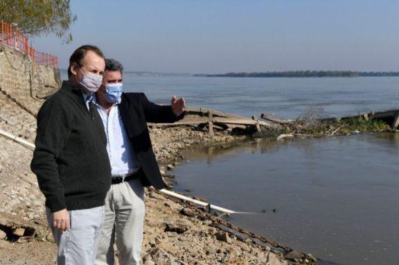 """Gustavo Bordet: La bajante del río Paraná """"es lo más urgente que nos ocupa"""""""