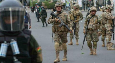 Defensa confirmó el transporte de material bélico a Bolivia