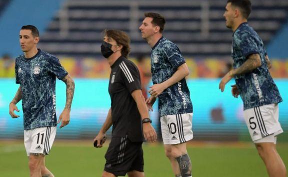 Con Romero y Di María adentro, Scaloni definió el equipo para la final