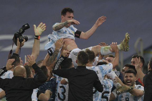 Messi campeón con Argentina: la quinta fue la vencida