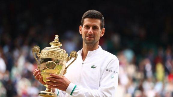 Djokovic ganó Wimbledon por sexta vez y alcanzó el récord de 20 títulos de Grand Slam