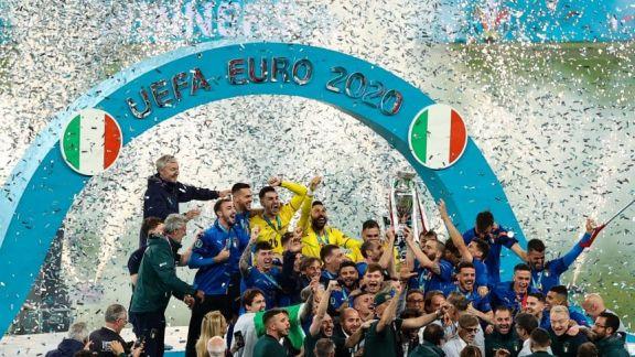 Italia festejó por penales su segunda conquista de la Eurocopa