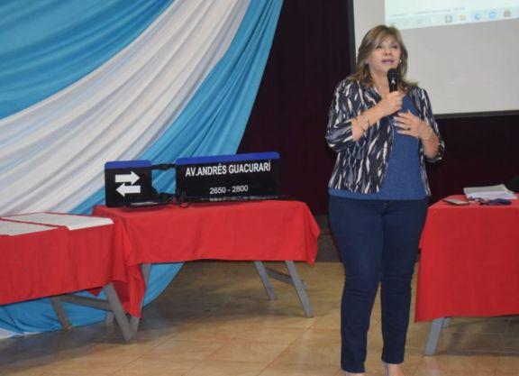 Presentación sobre nomenclatura y numeración de calles en Santo Pipó