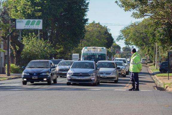 Nuevas avenidas de mano única en Posadas: incorporan más señalización y avanzan con las ciclovías