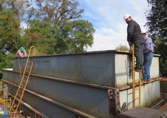 Aumentan 30 por ciento la provisión de agua potable tras habilitación de nueva planta de tratamiento en Wanda