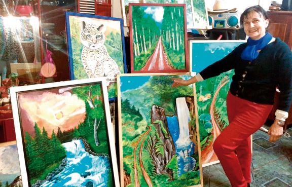 Buscó refugio en el arte para darle batalla al cáncer
