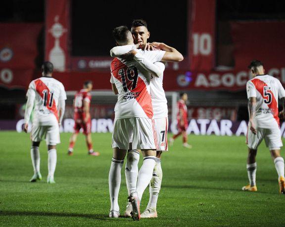River venció a Argentinos y saca chapa en la Copa Libertadores